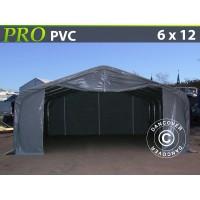Carpa Grande de Almacén PRO 6X12X3,7 M PVC
