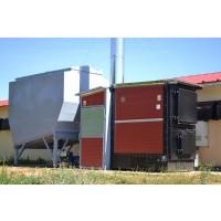 Generador de Aire Caliente de Biomasa