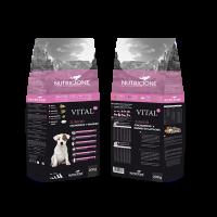 Vital PLUS Nutricione Premium - Junior, Cachorros y Madres 20Kg