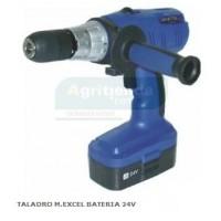 Taladro M.excel Bateria 24v