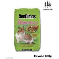 Alimento Completo Equilibrado Hamsters Sandim
