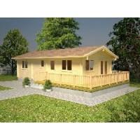 Casa de Madera Molly 2,( 46,1M²)
