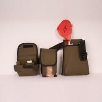Cinturón Atadora con Tres Compartimentos