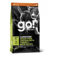 GO! Carnivore Grain Free Chicken, Turkey + Du