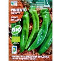 Pimiento Dulce Italiano Ecológico. 0,5 Gr / 80 Semillas