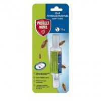 Protect Home Gel Anticucarachas Cebo de Acción Inmediata Eficacia Total 1 Jeringuilla Anti Cucarachas 10 Gr