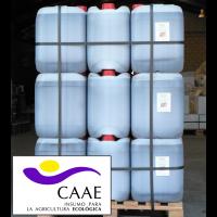 Bioestimulante Ecológico Trama y Azahar Fe-2, Abono CE. Sin Hormonas. Certificado CAAE.  Palet de 42 Garrafas X 20 Kg