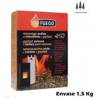 Deshollinador Estufas Pellet OK Fuego 1,5 KG