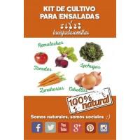 Kit de Cultivo para Ensaladas
