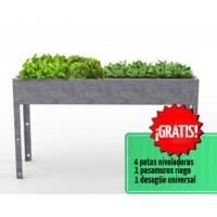 Mesa de Cultivo Medius 85 Acero Galvanizado | Huerto Urbano