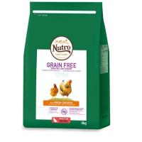 Nutro Grain Free Gato Esterilizado Pollo 4Kg