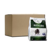 Raticida Comercial Mida, Caja 10 Kg (10 Bolsas X 1 Kg)