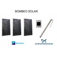 Sistema de Bombeo Solar Directo de Agua 15M3
