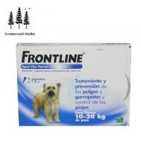 Caja 3 Pipetas Frontline 1,34 Ml para Perros