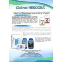 Cobre 70% P/V .herocuper 5L . Oxicloruro de Cobre. Herogra Especiales