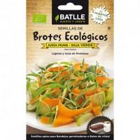 Semillas Germinado Soja Verde 36gr