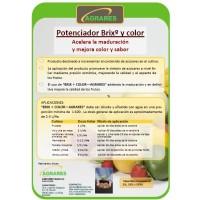 Agrares Brixº y Color (Aumenta Grados Brix, Mejora el Color, Acelera Maduración, Mejora Sabor)