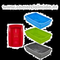 Bandeja de Arena - Gatera Plasticforte (Rojo)