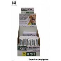 Expositor 30 Pipetas Piretron(Perros+15 Kg) A