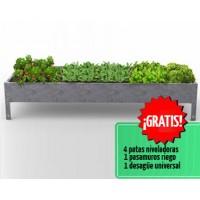 Mesa de Cultivo Magnus 40 Acero Galvanizado | Huerto Urbano