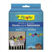 Mezcla Semillas de Flores Balcones con Sustrato Fast Cover Flower - 500 Gr
