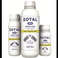 PACK 2x Zotal Zero Desinfectante de Uso Doméstico E Industrial con Olor a Limón 250 Ml