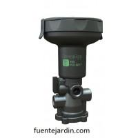 Solenoide Controlador Bermad Greenapp 402, Base Plástica de 3 Vías. Bluetooth.