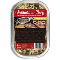 Ahumadores para Barbacoa con Cebolla y Mostaza - Aromas del Chef Flower - 70 Gr