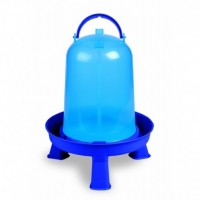 Bebedero para Pollos Eco 5 L con Patas Color Azul
