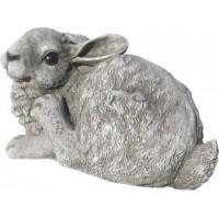 Figura Conejo, 36X34Cm. Natural Musgo