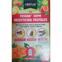 Fosdan 50PM - Insecticida Frutales - Batlle