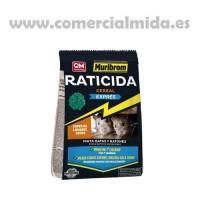 Raticida Muribrom Cereal Express, Veneno Ratas y Ratones Especial para Lugares Secos