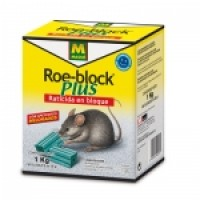 Roe-Block PLUS 1Kg. Raticida en Bloque de Masso