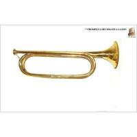 Trompeta Decorativa Latón Grande