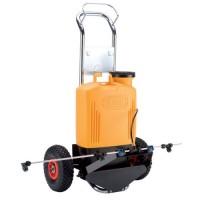 Bomba Electrónica de Mochila Elettroplus con Carro y Barra para Tratamientos Herbicidas