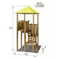 Torre Basica Olne con Tejado Amarillo Durlang