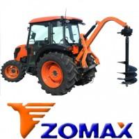 Ahoyadora Tractor Marca Zomax, Nuevo Sistema  Hidraulico para una Mejor Perforacion