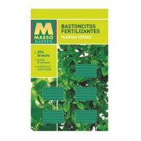 Bastoncitos Fertilizantes Plantas Verdes de Masso