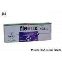 Caja 1 Pipeta Flevox 4,02 Ml Perros 40-60 Kg Anti Pulgas y Garrapatas Pipetas