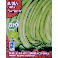 Judía Contender. Cultivo Ecologico. 15 Gr / 20 Semillas