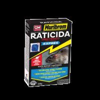 Muribrom Raticida Cebo Fresco Exprés Veneno para Ratones, Ratas y Roedores (Brodifacoum) 150 Gr