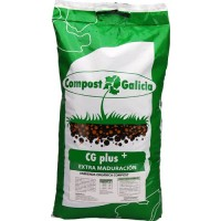 Palet de Abono Natural Concentrado Compost Galicia en Sacos de 20L