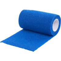 1 Rollo de Vendaje Flexible para Animales Vet-Flex Color Azul