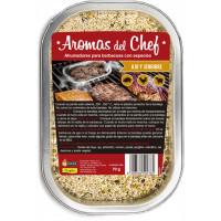 Ahumadores para Barbacoa con Ajo y Jengibre - Aromas del Chef Flower - 70 Gr