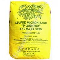 Azufre Micronizado P300/100 Fungicida Afepasa