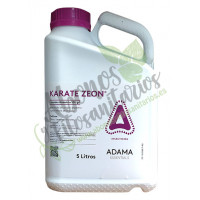 Karate ZEON Insecticida Piretroide de Amplio Espectro Adama, 5 L