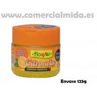 Repelente de Mosquitos Interior - Exterior Perfumado Citronela Gel 125g