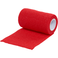 1 Rollo de Vendaje Flexible para Animales Vet-Flex Color Rojo