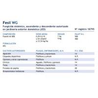 Fesil WG Fungicida Sistémico, Ascendente y De