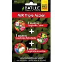 Mix Triple Accion Quimico. Insecticida, Fungicida y Acaricida